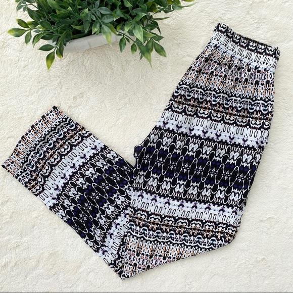 Velvet by Graham & Spencer elastic challis pants